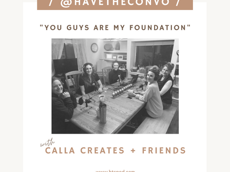 You Guys Are My Foundation