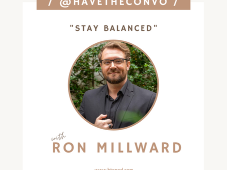 Stay Balanced with Ron