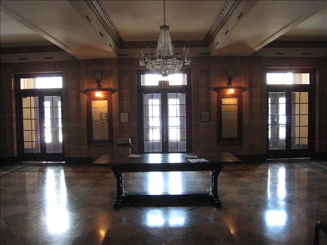 Entrance Reception