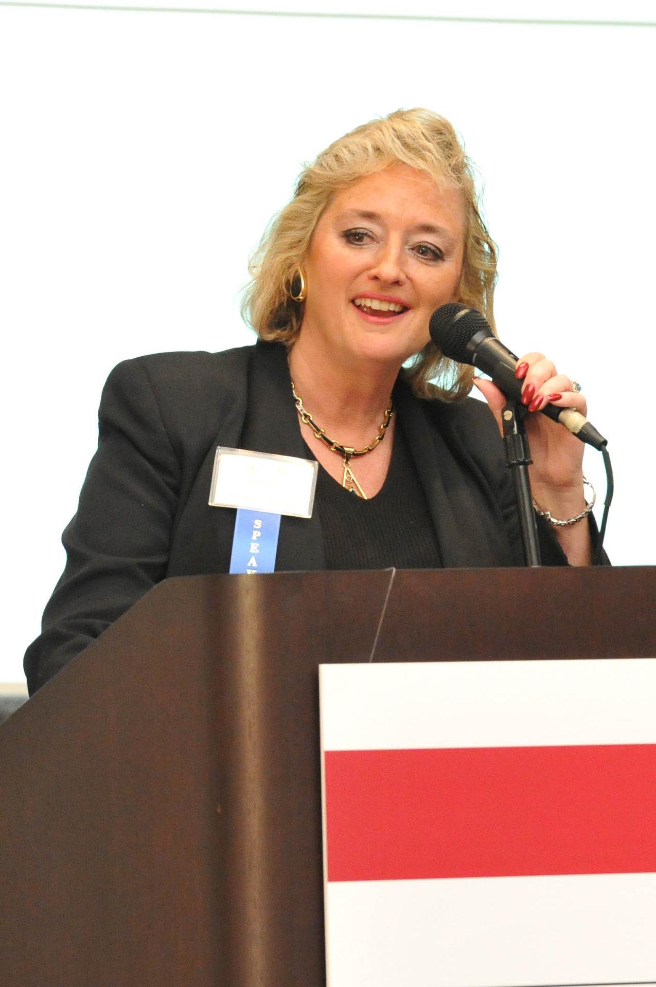 Lucinda Ruch, SSS Emcee & Organizer