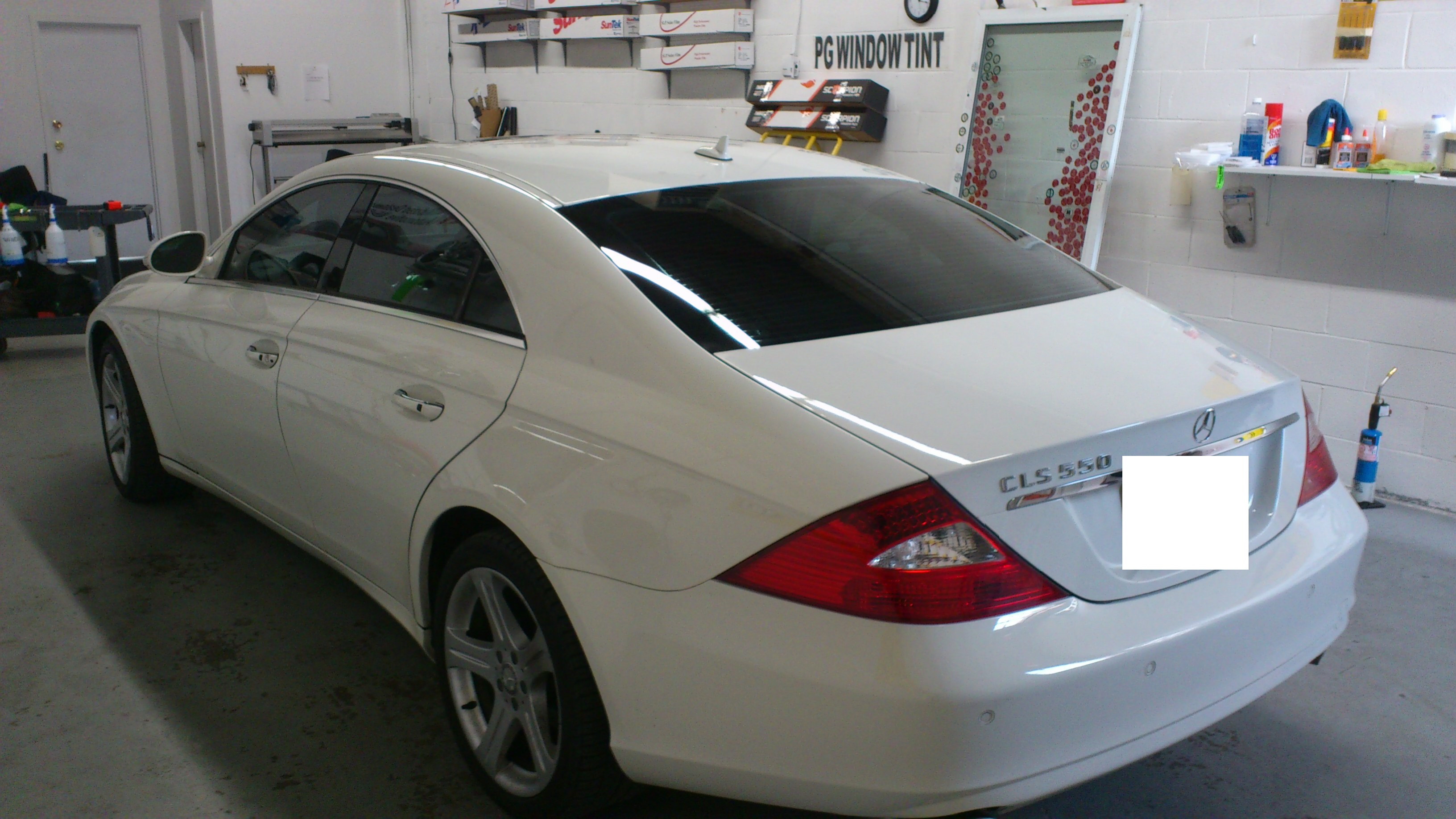 2014 MERCEDS BENZ  CLS 550