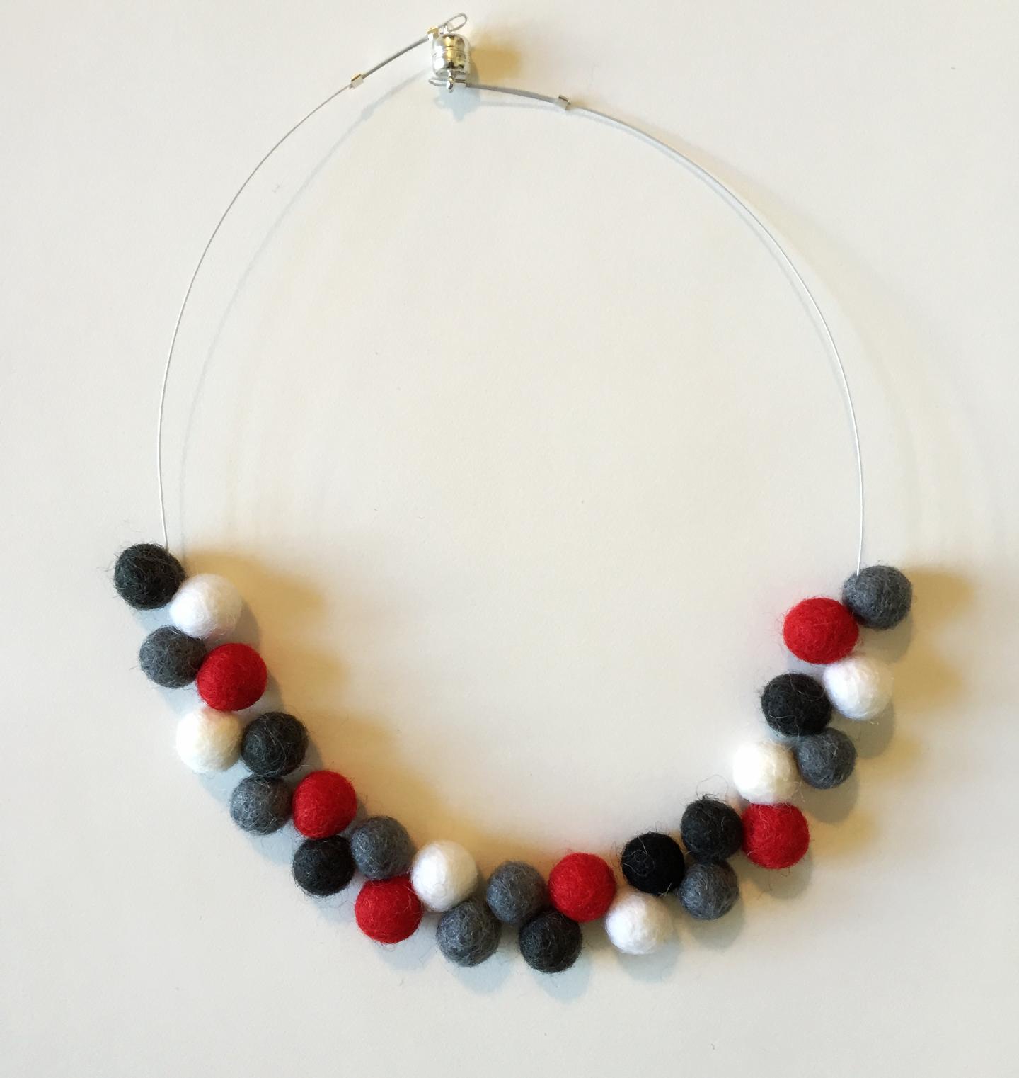 Atom red-grey