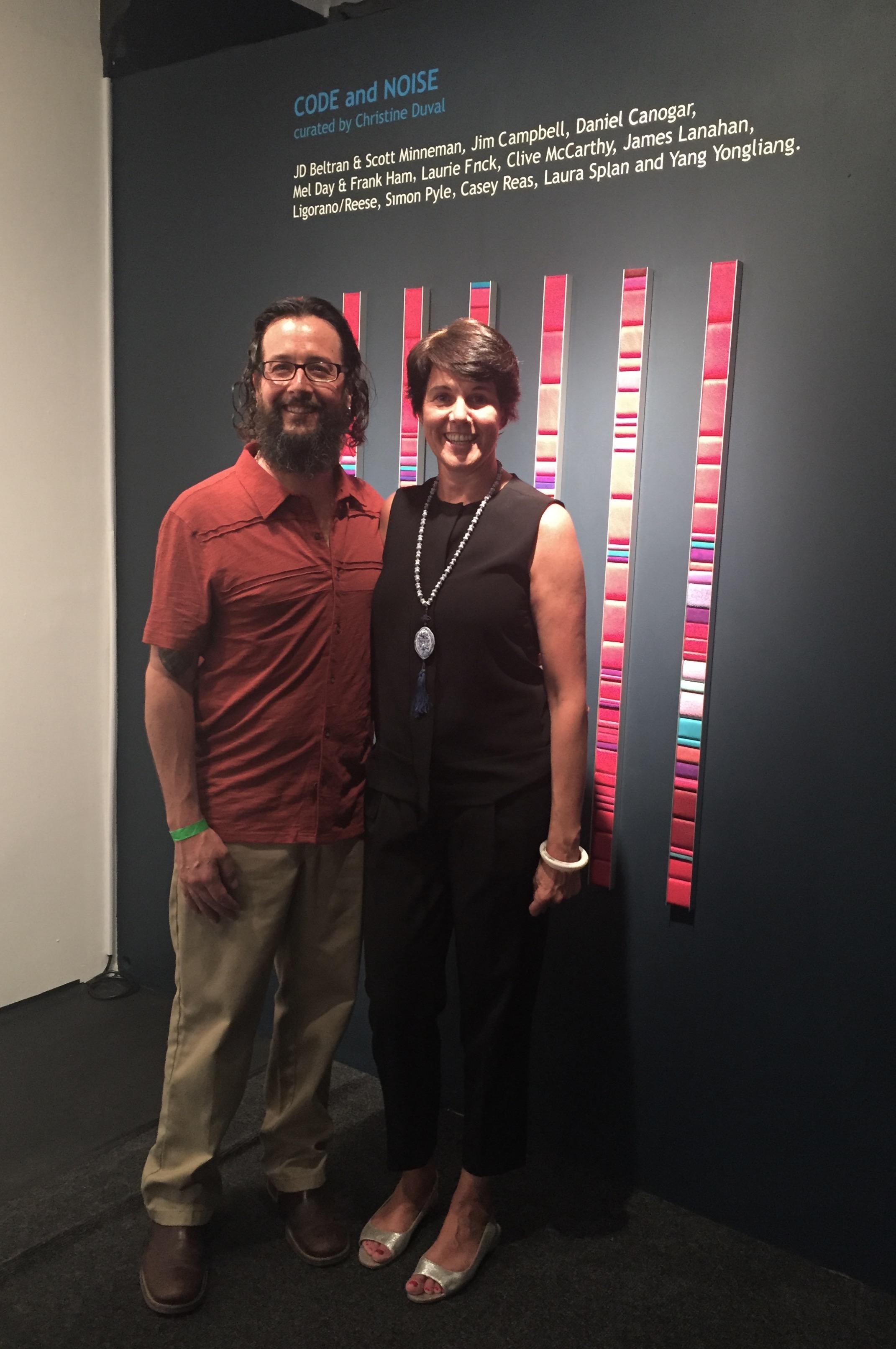 Christine Duval & Jeff Medinas