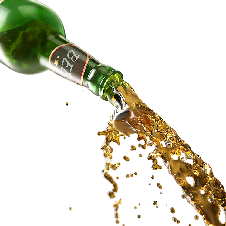 pouring beer bottle and liquid_5387264.p