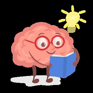 cute smart brain reading a_6233957.png