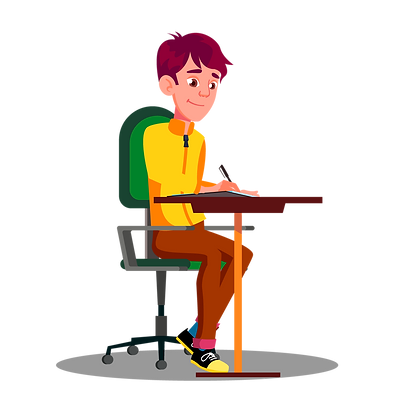student with pen in hand_5163642.png