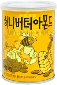 Honey Butter Almond 130g/Aluminum can