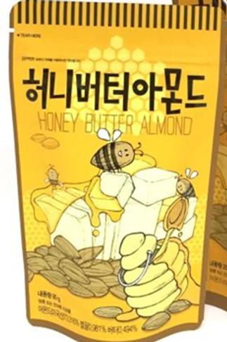 Honey Butter Almond 80g/Pouch bag