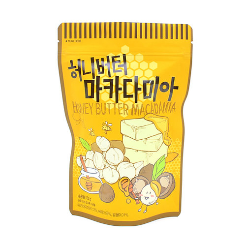 Honey Butter Macadamia 130g/Pouch bag