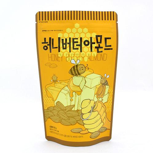 Honey Butter Almond 250g/Pouch bag