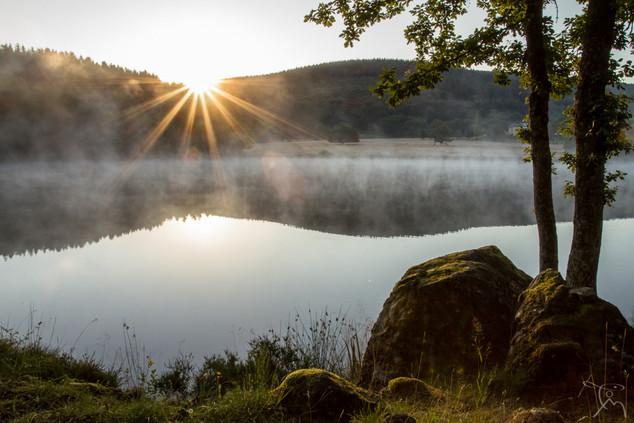 Lever sur l'étang d'Yonne