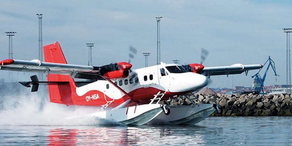 Generalforsamling + Nordic Seaplanes - Aarhus/København på 50 min.