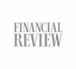 The Australian Financial Review logo.