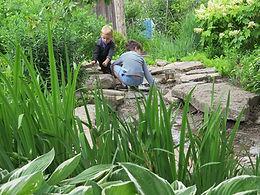 PSPD Eli and Carlos in creek.jpg