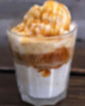 affogato, ice cream, coffee, dessert, treats, nourish
