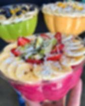 pitaya, dragonfruit, lagoon, papaya paradise, bowls, nourish