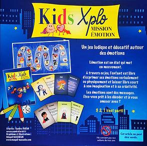KIDS XPLO - MISSION EMOTION - Jeu de société pour enfants sur les émotions