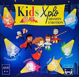 KIDS XPLO - JEU - EMOTIONS - ENFANTS