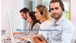 Hög servicenivå i Kundcenter