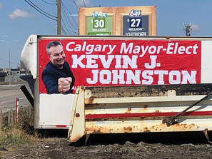 Kevin J. Johnston Signs And Banners Are Being Stolen