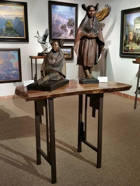 Display Table Rosewood