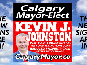 New Kevin J. Johnston For Mayor Lawn Sign Is Available For Download!