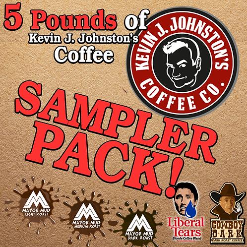 5 Varieties Sampler Pack - Kevin J Johnston Coffee Company