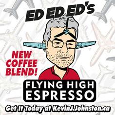 ED ED ED's Flying High Espresso Blend of Coffee