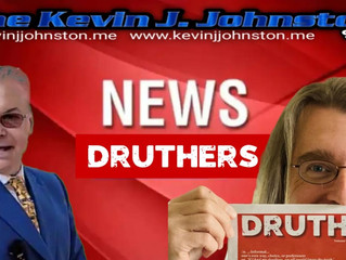 The Man Who Founded DRUTHERS Newspaper is LIVE on The Kevin J. Johnston Show Tonight!