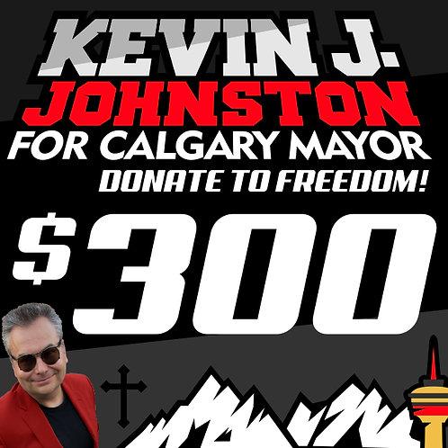 Donate $300