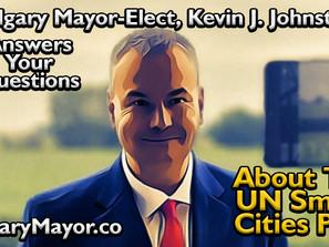 Calgary Mayor-Elect Kevin J. Johnston Talks Smart Cities