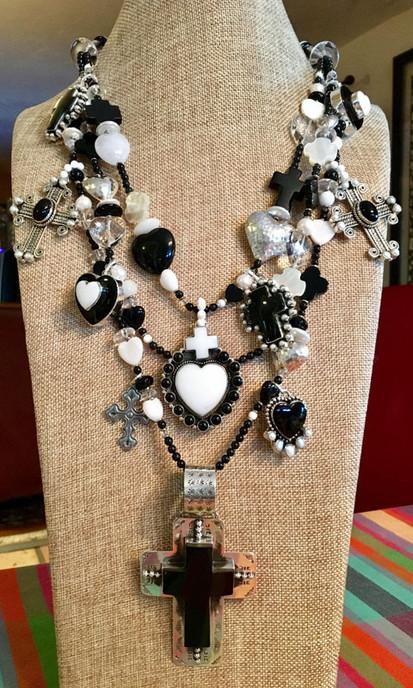 10 Crosses Necklace