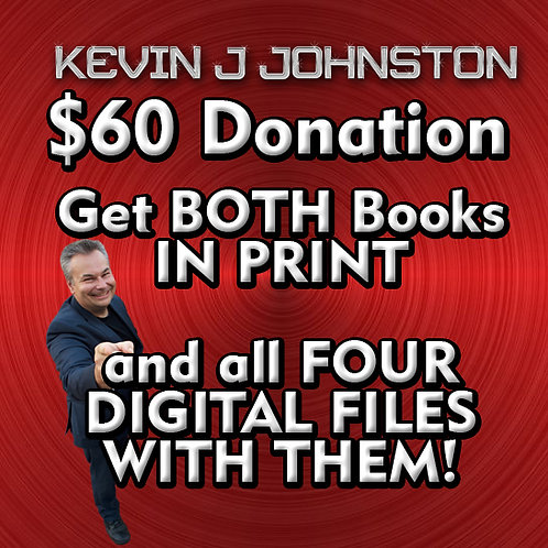 DONATE $60 or More and Get ALL The BOOKS!