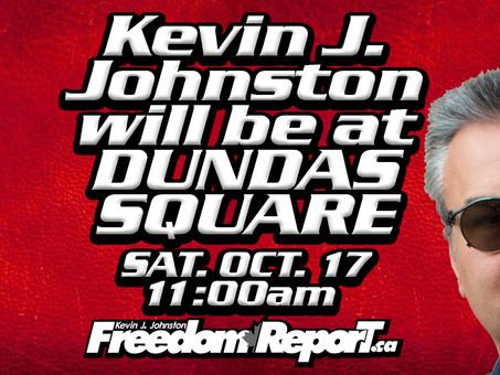 Kevin J. Johnston Is Speaking LIVE in Toronto