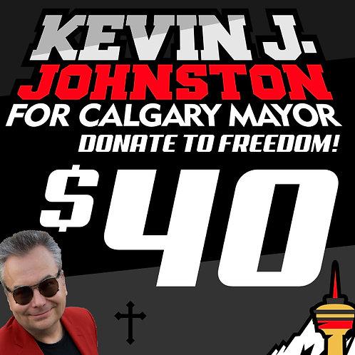 Donate $40