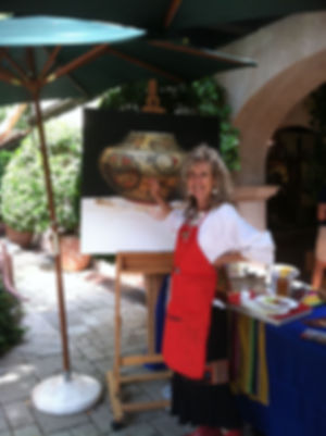 Lisa-Danielle-painting-in-the-Tlaquepaqu
