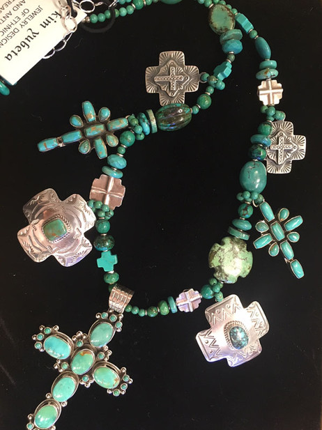 Turquoise Crosses
