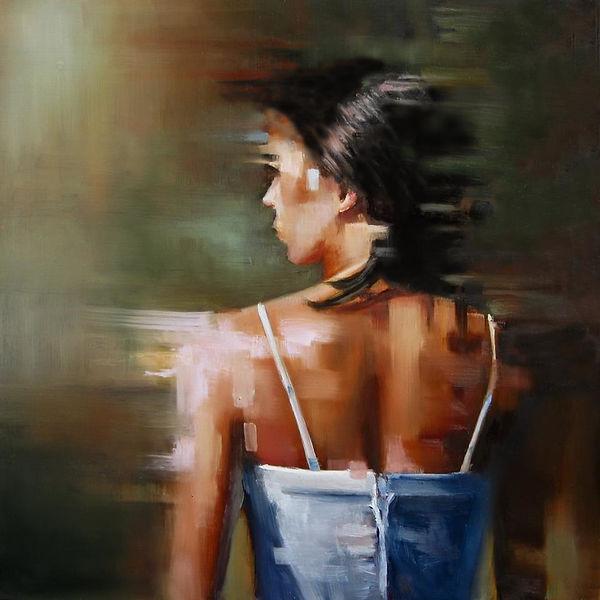 Michelle-Condrat-self-portrail-12x12-oil