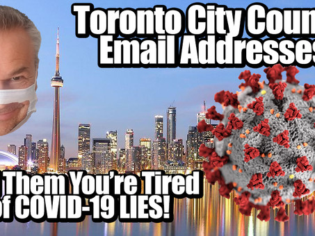 Toronto City Council And All City Staff Email Addresses