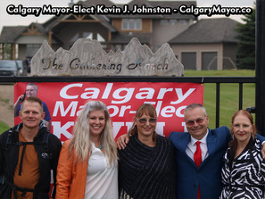 Calgary Loves Kevin J. Johnston and Kevin J. Johnston Loves Calgary!