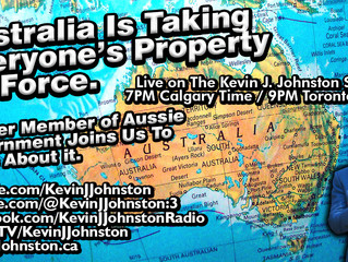 Former Australian Government Official CONFIRMS Aussie's Are Having Their PROPERTIES STOLEN - LIVE