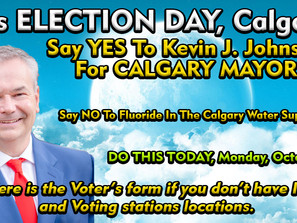 How To Vote In Calgary With NO ID or a Voter's Card. Also, VOTING STATION LOCATIONS in Calgary