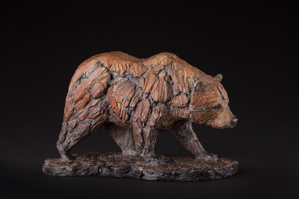 Big Bear Walking