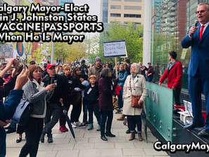 Kevin J. Johnston Speaks About Banning Vaccine Passports and Lockdowns in Downtown Calgary