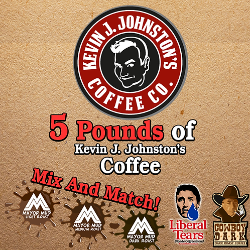 5 LB of Coffee (Mix and Match) - Kevin J Johnston Coffee Company