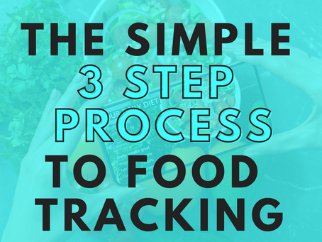 The Simple 3 Step Process To Food Tracking