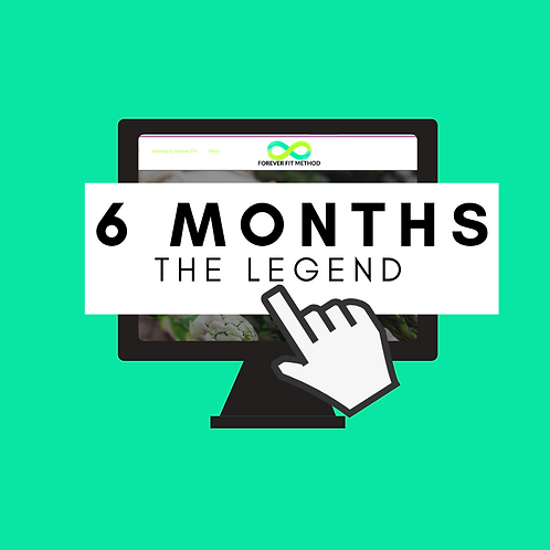 // THE LEGEND // ONLINE 6 MONTH PROGRAM