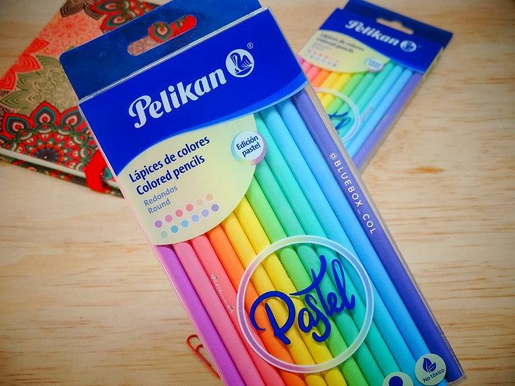 Colores Pastel x12 Pelikan