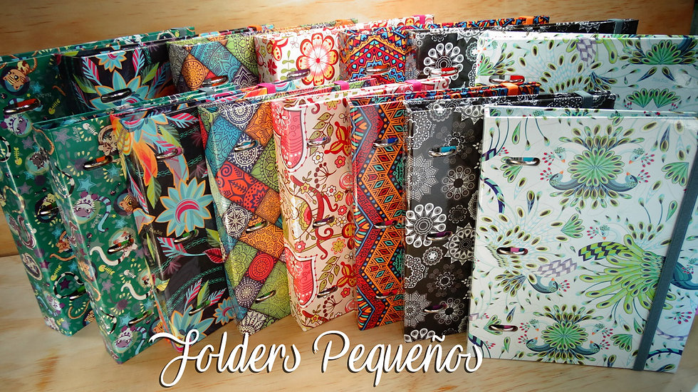 Folder Pequeño + 80 Hojas