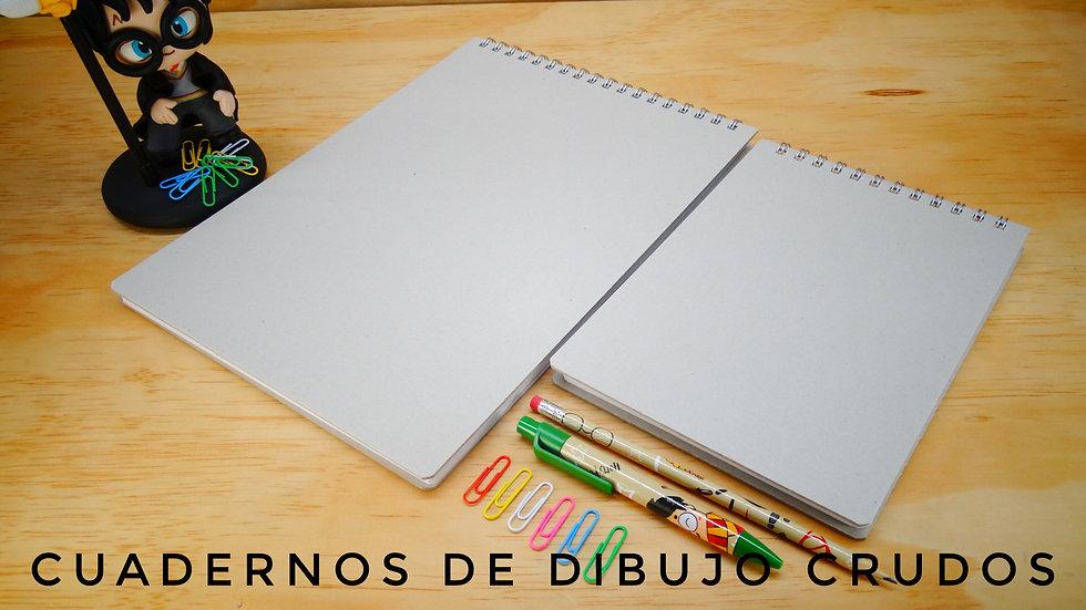 Cuadernos de Dibujo Crudos